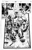 Dale Keown - Hulk 385 Page 5 Splash Comic Art