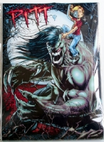 Dale Keown - PITT Wall Banner Comic Art