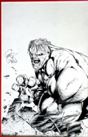 Billy Tan- Hulk (art only) Comic Art