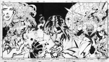 Joe Madureira - X-Men #350 Triple Cover Comic Art