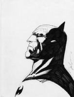 Jim Lee - Batman sketch Comic Art