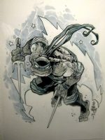 Raphael (Ninja Turtles) Comic Art