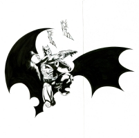Batman Dark Knight movie design licensing art David Brohawk Williams R Friend, Comic Art