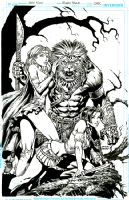 Warlord Of Oz COVER David Finch and Richard Friend, Comic Art