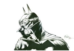 Batman Earth 19 my interpretation Richard Friend all, Comic Art