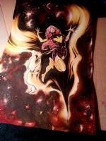 Dark Phoenix Uncanny X-Men Richard Friend photo detail, Comic Art