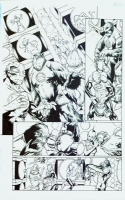 Green Lantern original art (last one) Billy Tan and Richard Friend, Comic Art