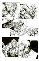 Forever Evil 3 David Finch pencils Richard Friend inks, Comic Art