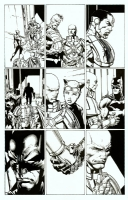 Forever Evil 2 David Finch pencils Richard Friend inks, Comic Art