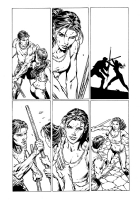 Wonder Woman and Superman David Finch Richard Friend, Comic Art