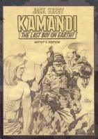 Kamandi Artist's Edition-SDCC Comic Art