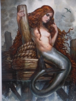 Mermaid Greg Staples Comic Art