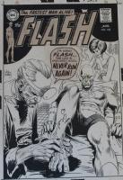 Flash 190 Cover Comic Art