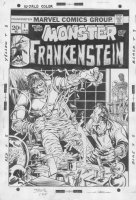 Frankenstein #1 Comic Art