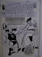 Daredevil #5 Comic Art