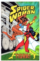 Spider-Woman #49 Cover Recreation..., Comic Art