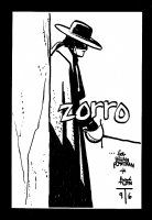 ALEX TOTH...ZORRO!.... Comic Art