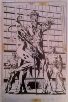 Batman 570 Pg 3  No Mans Land  Comic Art