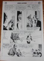Green Lantern #14 page 10 by Gil Kane Comic Art