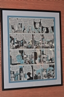 CANIFF Terry and the Pirates 4 strips that follow Comic Art