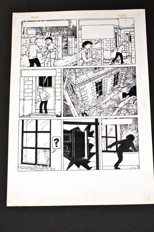 Johan DE MOOR Gaspard de la nuit Comic Art