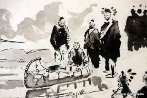 PRATT, Hugo, grande planche non remont�e de Ticonderoga Comic Art