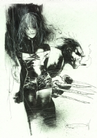 Ashley Wood - Rogue & Wolverine, Comic Art