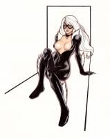 Hoa Phong - Black Cat 1, Comic Art