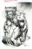 Brandon Peterson - Wolverine, Comic Art