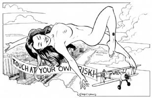 Gene Gonzales' Rogue 2 Comic Art