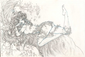 Joyce Chin - Poison Ivy Comic Art