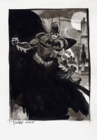 Tim Sale Batman Commission Comic Art