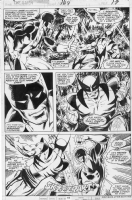 X-men #109 page 17 Wolverine vs Guardian by John Byrne, Comic Art