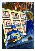Batman '66 Trophy Wall by Jonathan Case, Comic Art
