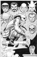 Green Goblin's Trophy Wall by John Romita Sr. and John Romita Jr., Comic Art