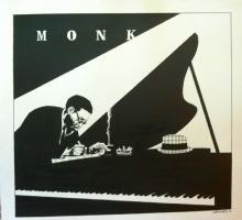 Thelonious Monk by Chris Brunner Comic Art