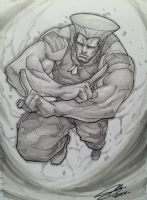 Guile Commission  Comic Art