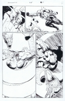 Stormwatch 25 pg 14 Comic Art
