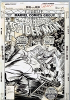 Amazing Spider-man 163 Cover Comic Art