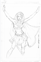 Supergirl by Kevin Sharpe Comic Art