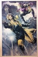JK Wood Ward - Gwen Stacey & Green Goblin - LSCC 2015 Comic Art