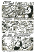 Teenage Mutant Ninja Turtles #18 page 7 Comic Art