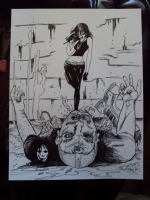 Death - Sandman, Comic Art