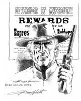 Wanted: Jonah Hex Comic Art