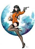 Riki Rocketeer Comic Art