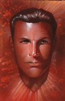 Buster Crabbe portrait Comic Art