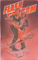 Flash Gordon and Dale Arden Comic Art