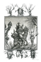 Water Castle - By Ian Miller Comic Art