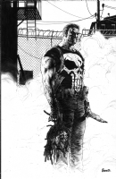 Punisher Psycho Comic Art