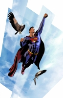 Superman Color Comic Art